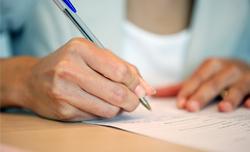 3ème étape : Le contrat de réservation