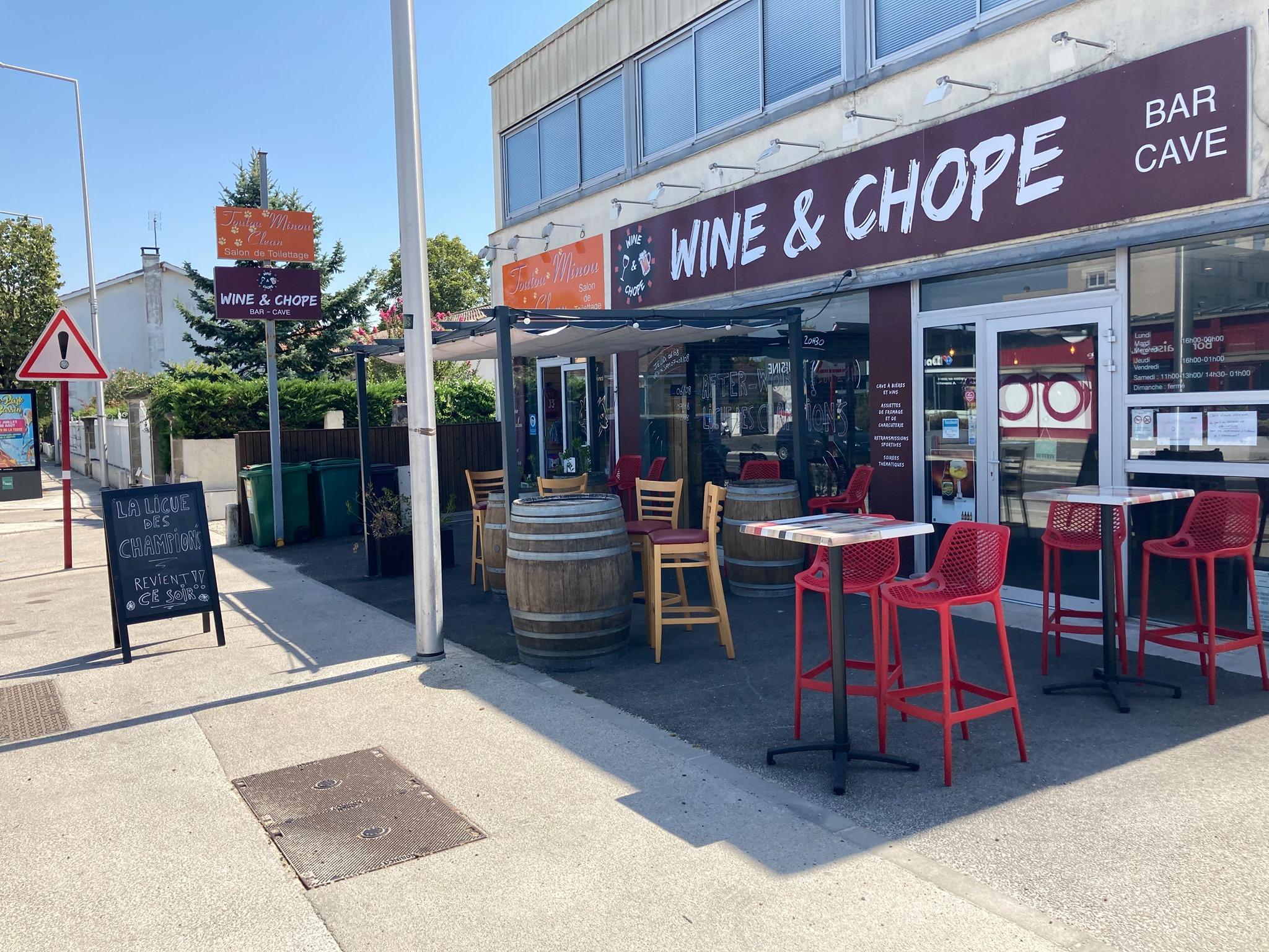 Wine & Chope à Pessac